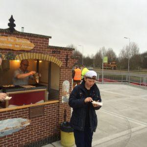 poffertjeskraam opening afvalbrengstation beverwijk