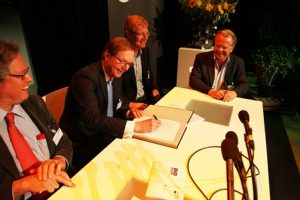 ondertekening mou samenwerking biobased economy
