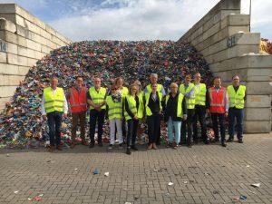 VKU bij plastic recycling Van Werven